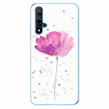 Odolné silikonové pouzdro iSaprio - Poppies - Huawei Nova 5T