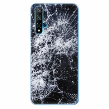 Odolné silikonové pouzdro iSaprio - Cracked - Huawei Nova 5T