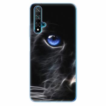 Odolné silikonové pouzdro iSaprio - Black Puma - Huawei Nova 5T