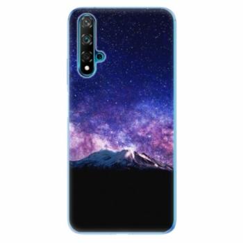 Odolné silikonové pouzdro iSaprio - Milky Way - Huawei Nova 5T