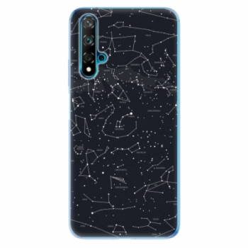 Odolné silikonové pouzdro iSaprio - Night Sky 01 - Huawei Nova 5T