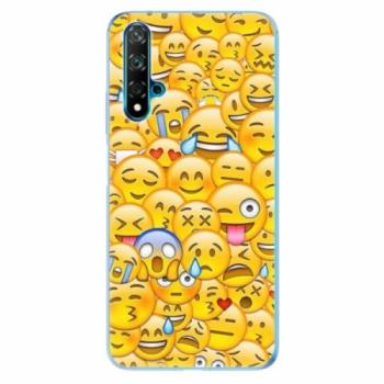 Odolné silikonové pouzdro iSaprio - Emoji - Huawei Nova 5T