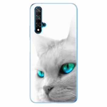 Odolné silikonové pouzdro iSaprio - Cats Eyes - Huawei Nova 5T