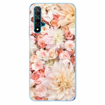 Odolné silikonové pouzdro iSaprio - Flower Pattern 06 - Huawei Nova 5T