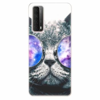 Odolné silikonové pouzdro iSaprio - Galaxy Cat - Huawei P Smart 2021