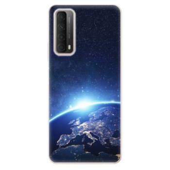 Odolné silikonové pouzdro iSaprio - Earth at Night - Huawei P Smart 2021