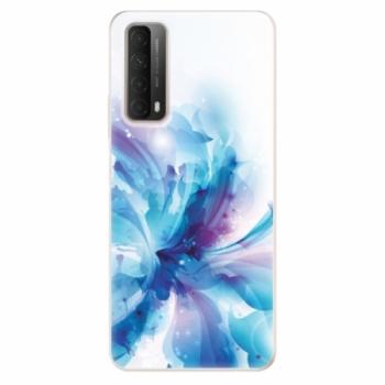 Odolné silikonové pouzdro iSaprio - Abstract Flower - Huawei P Smart 2021