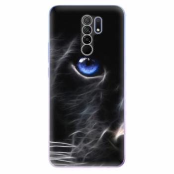 Odolné silikonové pouzdro iSaprio - Black Puma - Xiaomi Redmi 9