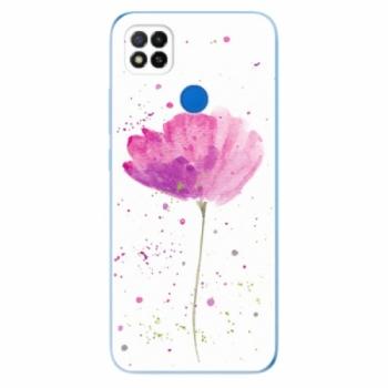 Odolné silikonové pouzdro iSaprio - Poppies - Xiaomi Redmi 9C