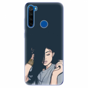 Odolné silikonové pouzdro iSaprio - Swag Girl - Xiaomi Redmi Note 8T