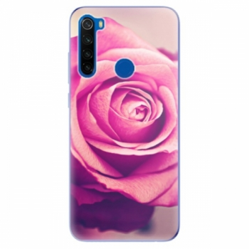 Odolné silikonové pouzdro iSaprio - Pink Rose - Xiaomi Redmi Note 8T