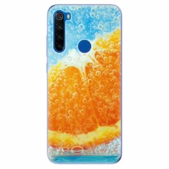 Odolné silikonové pouzdro iSaprio - Orange Water - Xiaomi Redmi Note 8T