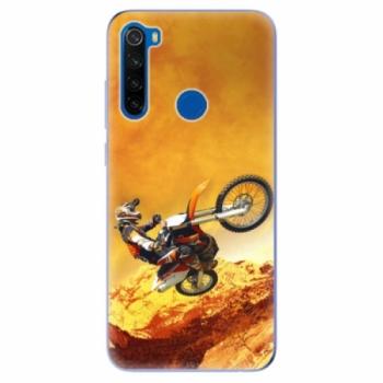 Odolné silikonové pouzdro iSaprio - Motocross - Xiaomi Redmi Note 8T