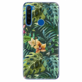 Odolné silikonové pouzdro iSaprio - Tropical Green 02 - Xiaomi Redmi Note 8T