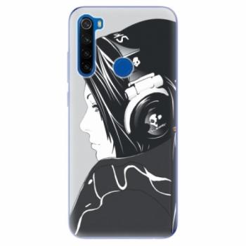 Odolné silikonové pouzdro iSaprio - Headphones - Xiaomi Redmi Note 8T