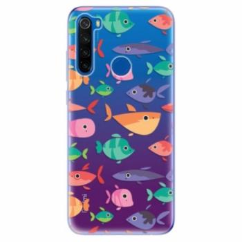 Odolné silikonové pouzdro iSaprio - Fish pattern 01 - Xiaomi Redmi Note 8T