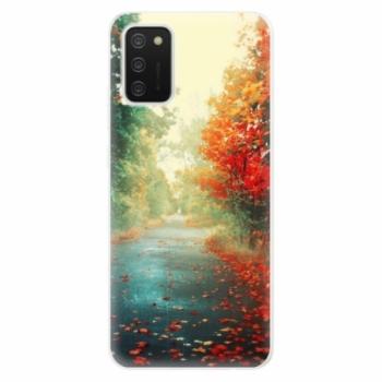 Odolné silikonové pouzdro iSaprio - Autumn 03 - Samsung Galaxy A02s