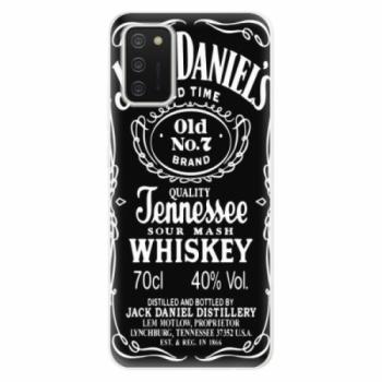Odolné silikonové pouzdro iSaprio - Jack Daniels - Samsung Galaxy A02s
