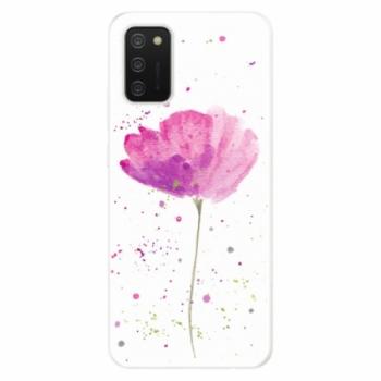 Odolné silikonové pouzdro iSaprio - Poppies - Samsung Galaxy A02s