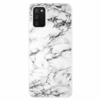Odolné silikonové pouzdro iSaprio - White Marble 01 - Samsung Galaxy A02s