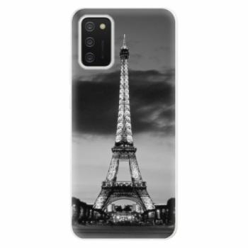 Odolné silikonové pouzdro iSaprio - Midnight in Paris - Samsung Galaxy A02s