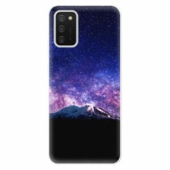 Odolné silikonové pouzdro iSaprio - Milky Way - Samsung Galaxy A02s
