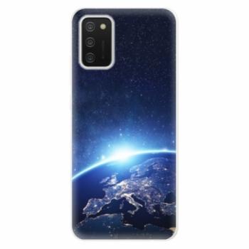 Odolné silikonové pouzdro iSaprio - Earth at Night - Samsung Galaxy A02s