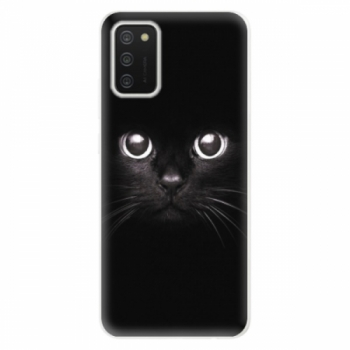 Odolné silikonové pouzdro iSaprio - Black Cat - Samsung Galaxy A02s