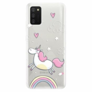Odolné silikonové pouzdro iSaprio - Unicorn 01 - Samsung Galaxy A02s