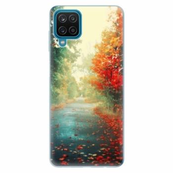 Odolné silikonové pouzdro iSaprio - Autumn 03 - Samsung Galaxy A12