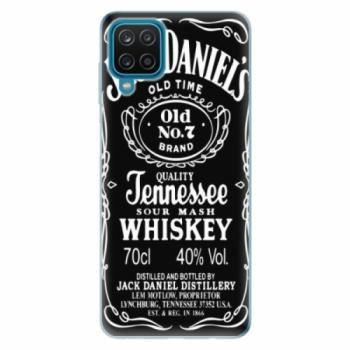 Odolné silikonové pouzdro iSaprio - Jack Daniels - Samsung Galaxy A12