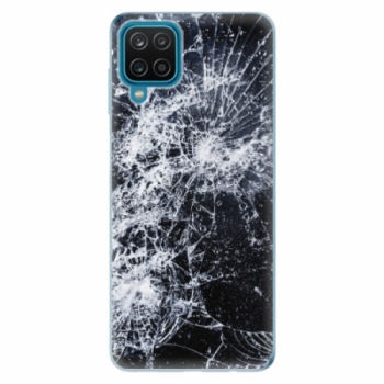 Odolné silikonové pouzdro iSaprio - Cracked - Samsung Galaxy A12
