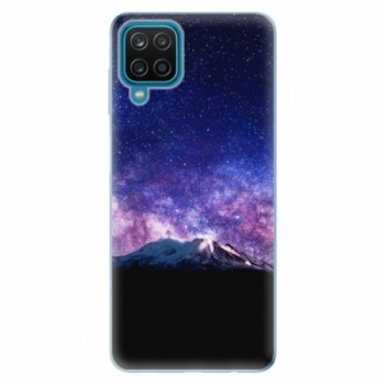Odolné silikonové pouzdro iSaprio - Milky Way - Samsung Galaxy A12