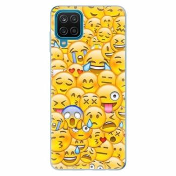 Odolné silikonové pouzdro iSaprio - Emoji - Samsung Galaxy A12