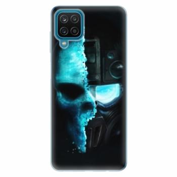 Odolné silikonové pouzdro iSaprio - Roboskull - Samsung Galaxy A12