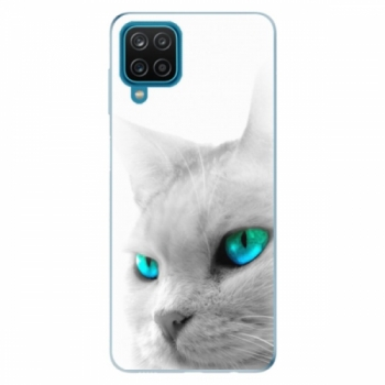 Odolné silikonové pouzdro iSaprio - Cats Eyes - Samsung Galaxy A12