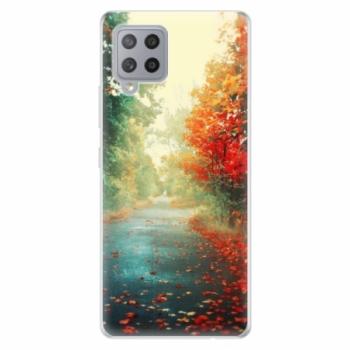 Odolné silikonové pouzdro iSaprio - Autumn 03 - Samsung Galaxy A42