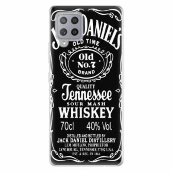 Odolné silikonové pouzdro iSaprio - Jack Daniels - Samsung Galaxy A42