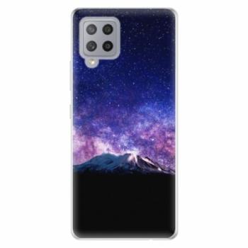 Odolné silikonové pouzdro iSaprio - Milky Way - Samsung Galaxy A42
