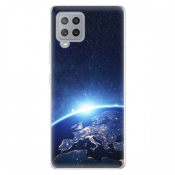Odolné silikonové pouzdro iSaprio - Earth at Night - Samsung Galaxy A42