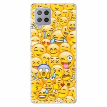 Odolné silikonové pouzdro iSaprio - Emoji - Samsung Galaxy A42