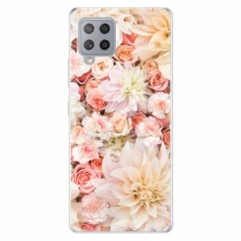 Odolné silikonové pouzdro iSaprio - Flower Pattern 06 - Samsung Galaxy A42