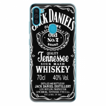 Odolné silikonové pouzdro iSaprio - Jack Daniels - Samsung Galaxy M11