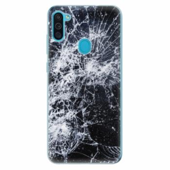 Odolné silikonové pouzdro iSaprio - Cracked - Samsung Galaxy M11