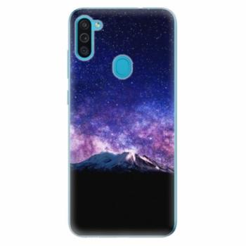 Odolné silikonové pouzdro iSaprio - Milky Way - Samsung Galaxy M11