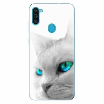 Odolné silikonové pouzdro iSaprio - Cats Eyes - Samsung Galaxy M11