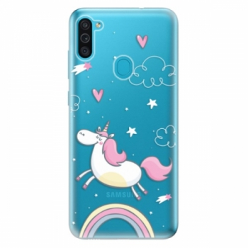 Odolné silikonové pouzdro iSaprio - Unicorn 01 - Samsung Galaxy M11