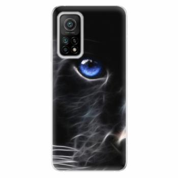 Odolné silikonové pouzdro iSaprio - Black Puma - Xiaomi Mi 10T / Mi 10T Pro