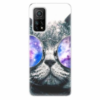 Odolné silikonové pouzdro iSaprio - Galaxy Cat - Xiaomi Mi 10T / Mi 10T Pro