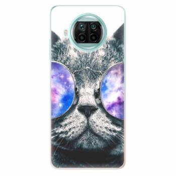 Odolné silikonové pouzdro iSaprio - Galaxy Cat - Xiaomi Mi 10T Lite